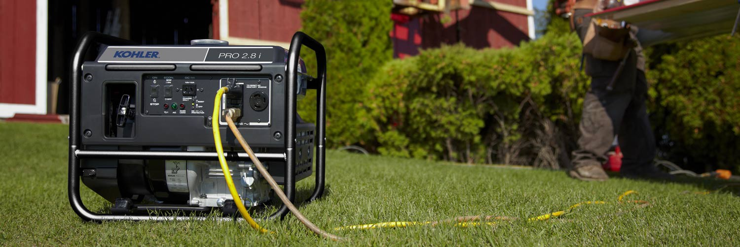 Here's a simple guide to choosing and using KOHLER portable generators.