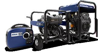 A 20 kW KOHLER generator