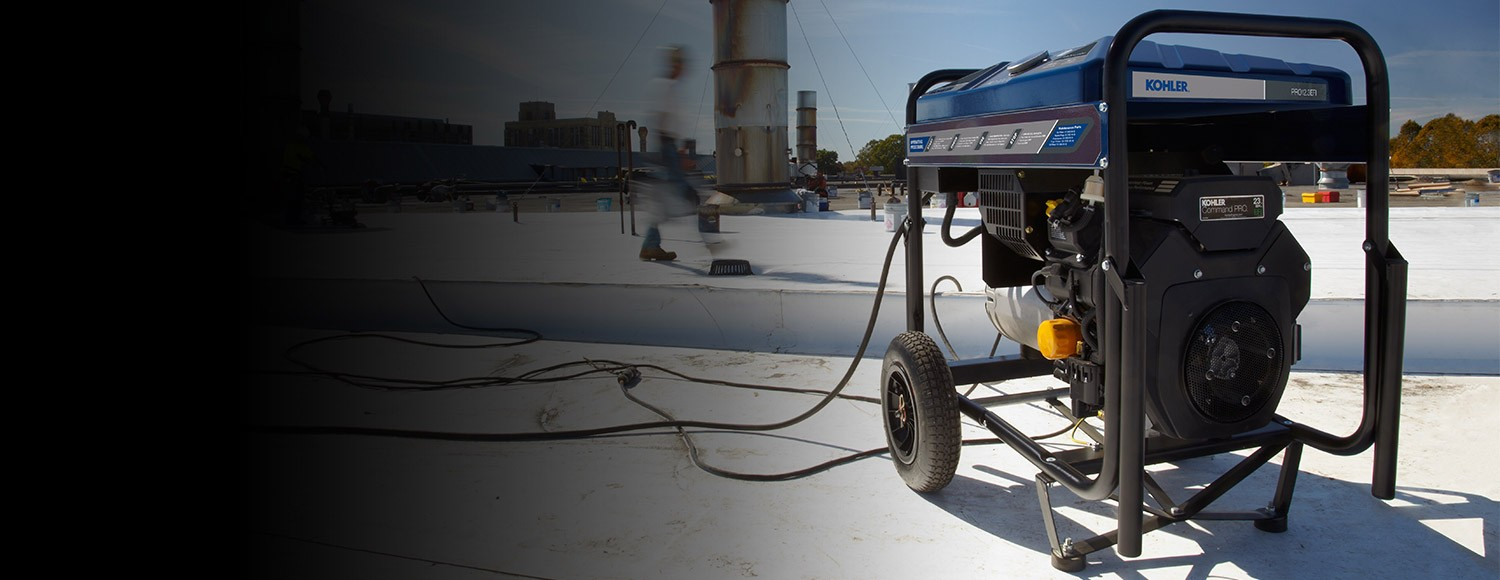 Why choose KOHLER portable generators for jobsite power? For good reasons. Read on.