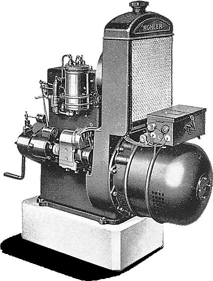 A KOHLER generator circa 1922