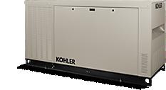 A 125 kW KOHLER generator
