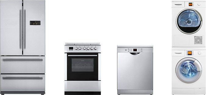 Refrigerator, Oven, Microwave, Washer Dryer and Dishwasher powered by KOHLER generator.