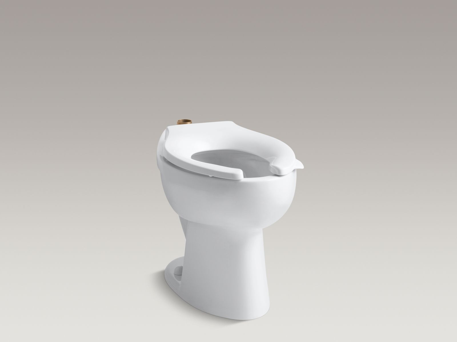 Shown with Stronghold® toilet seat K-4731-C-0, not included.