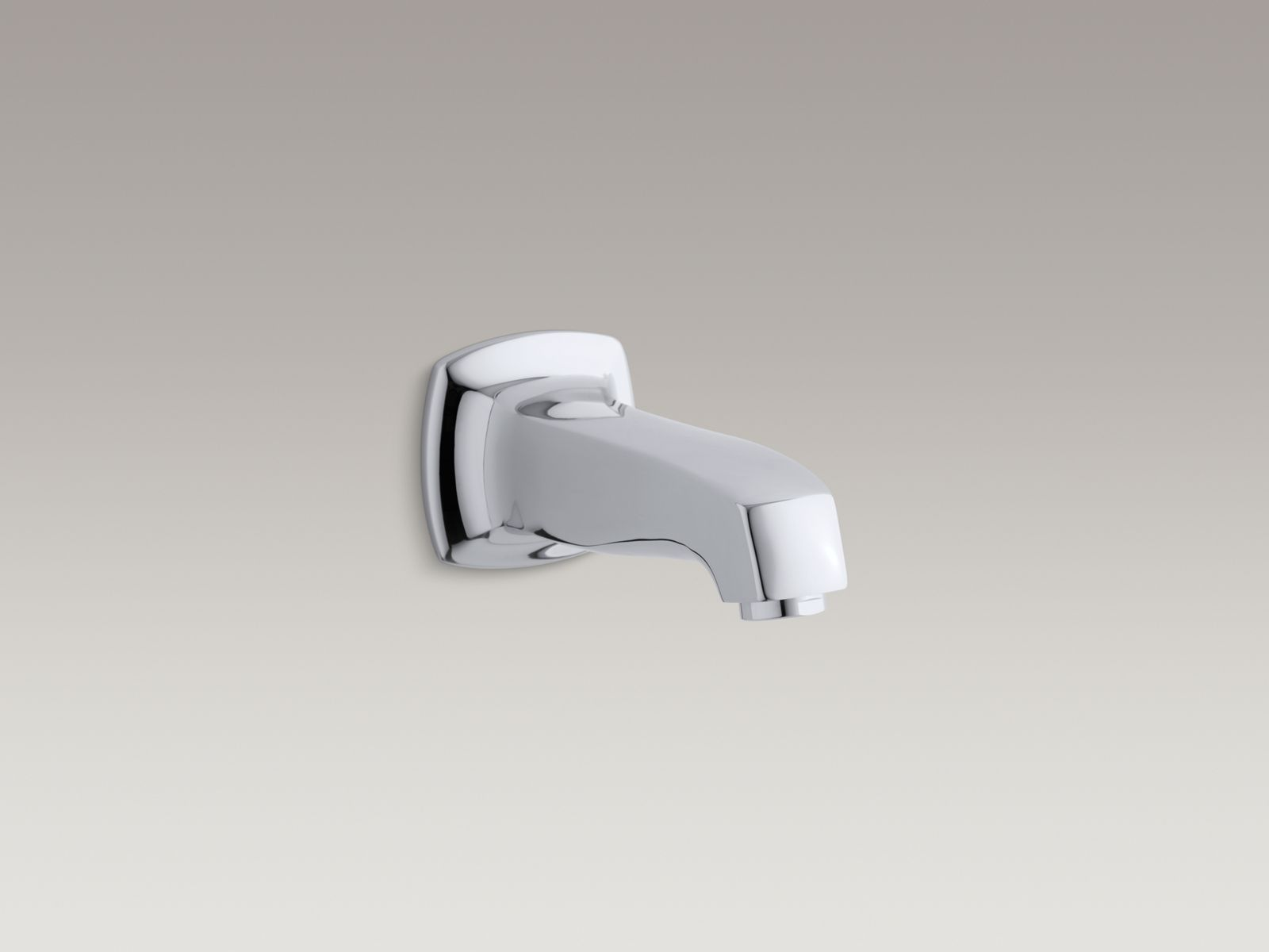 Margaux® wall-mount, non-diverter bath spout