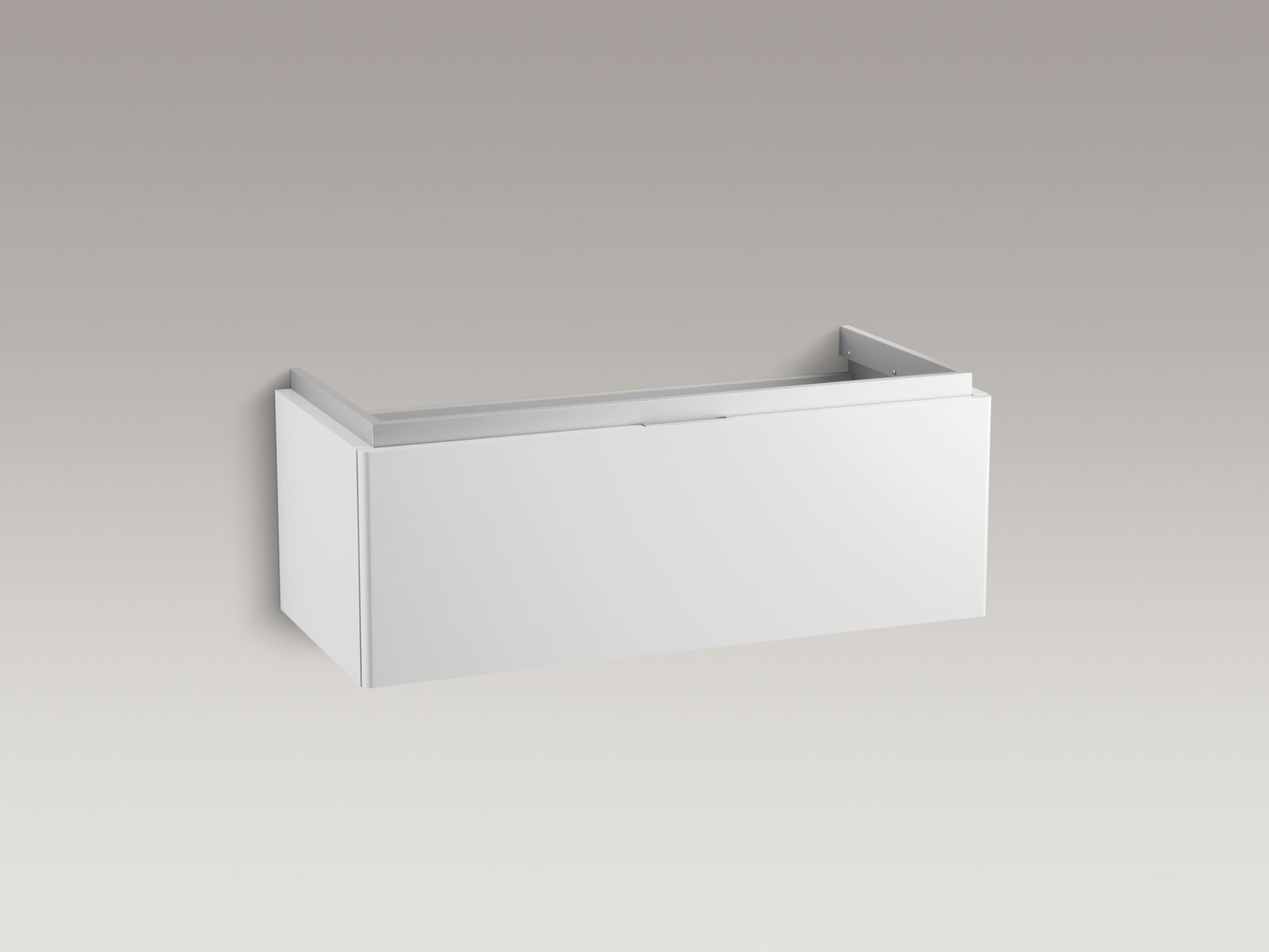Shown with Reve® Lavatory K-5026-8-0 and standard pop-up drain, not included.
