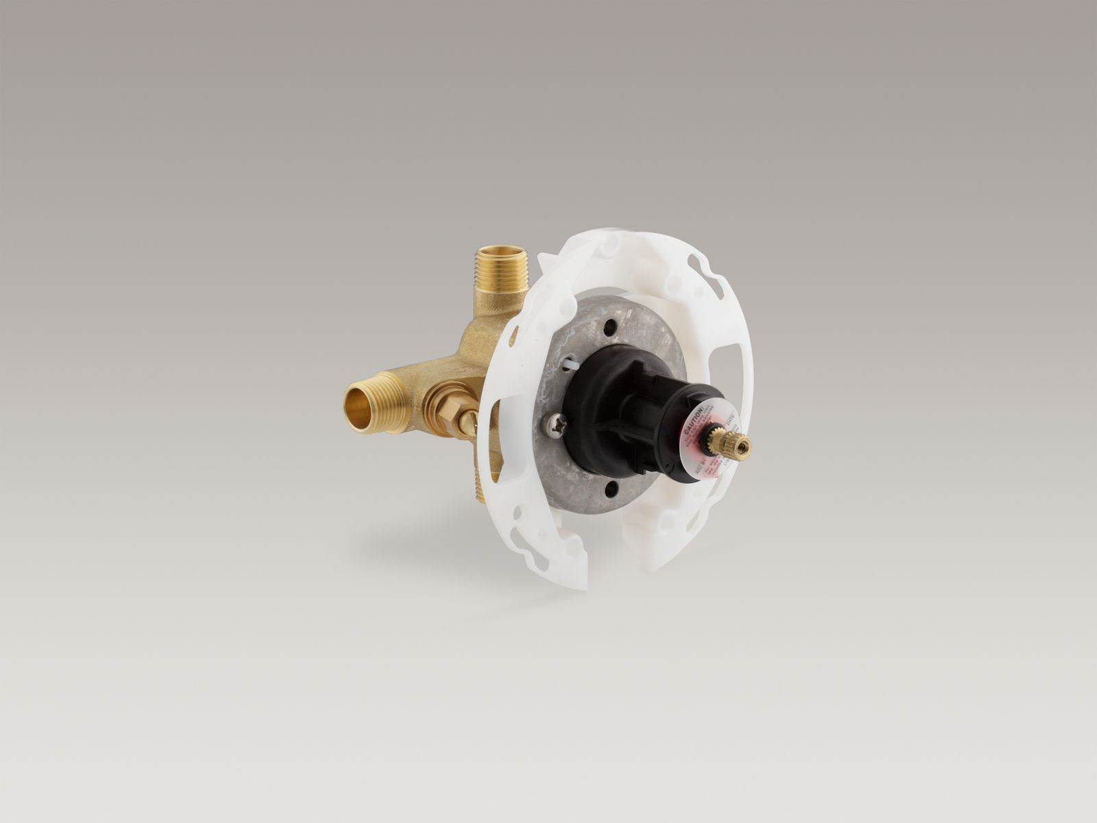 "Rite-Temp® 1/2"" pressure-balancing valve with screwdriver stops"