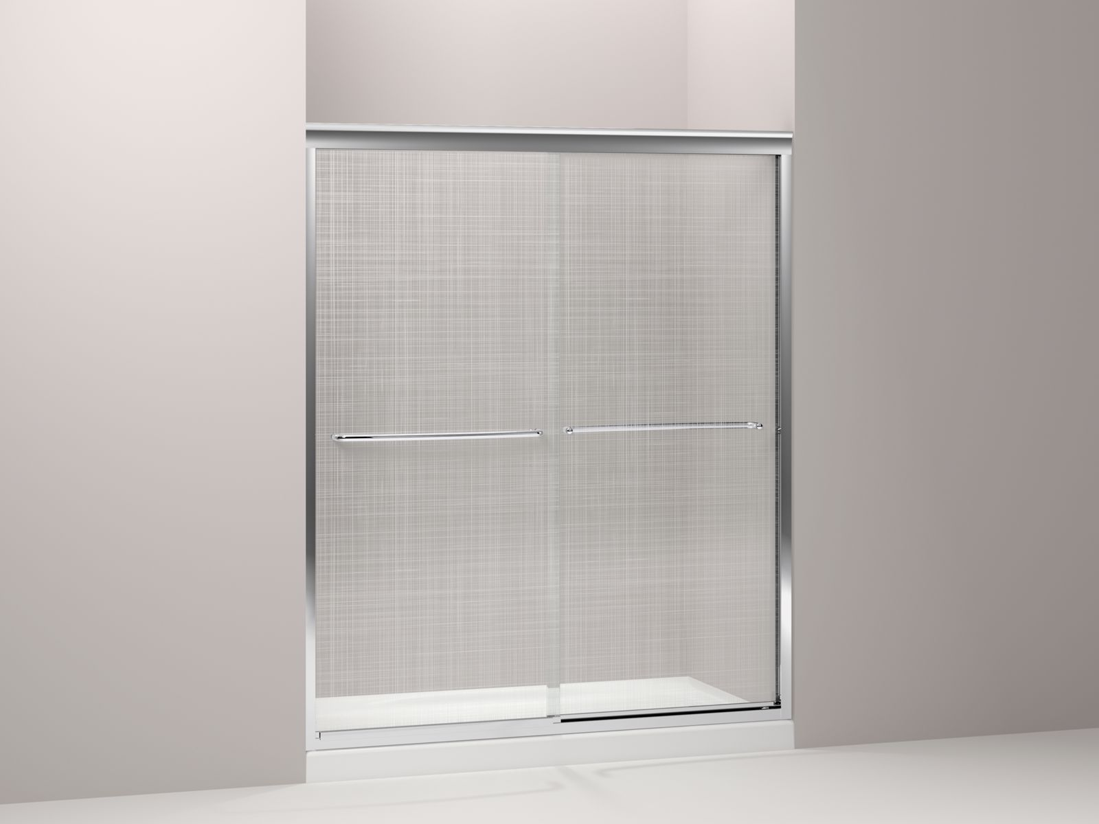Shown with Salient® shower base K-9055-0, not included.