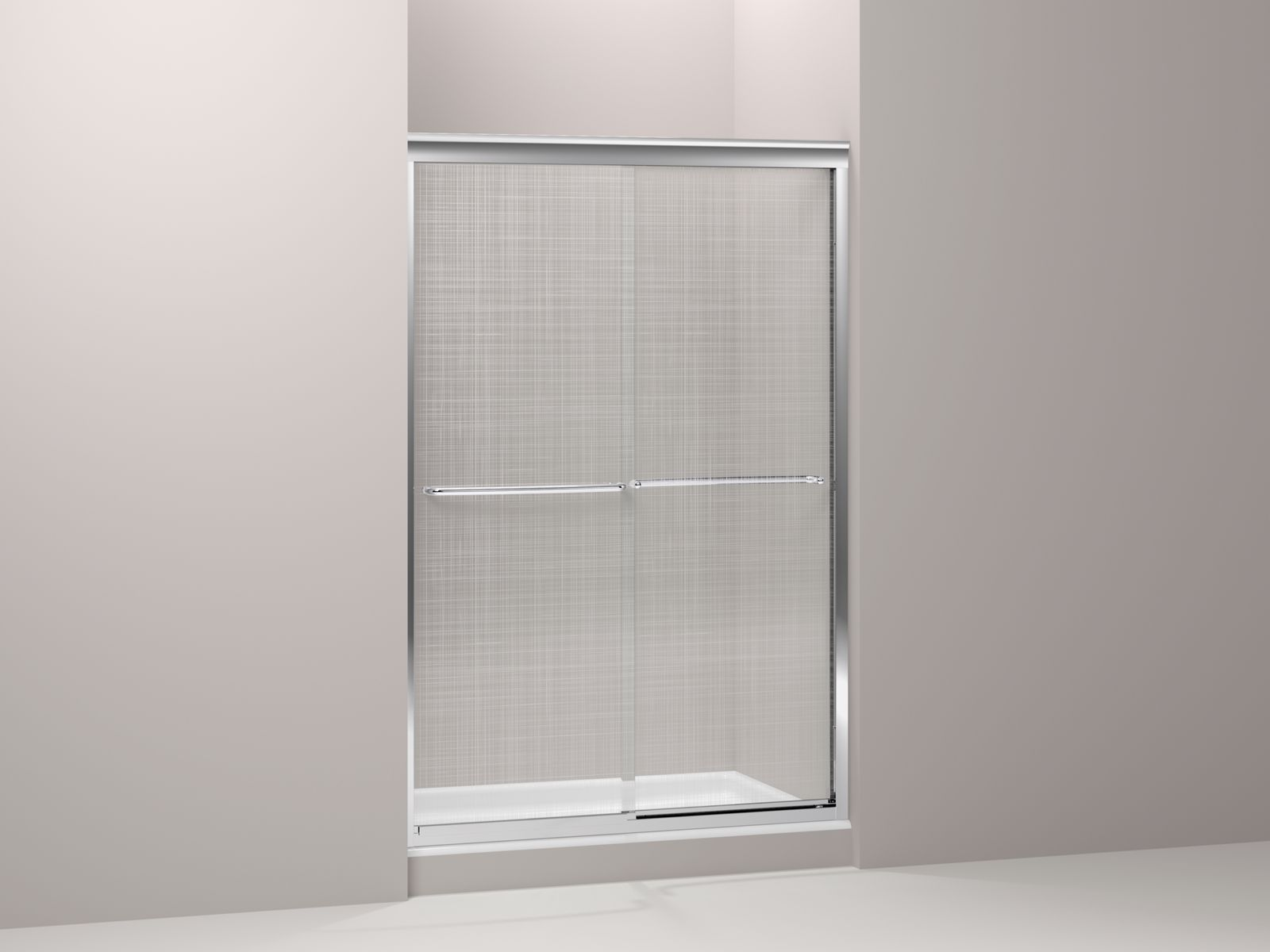 Shown with Kathryn® shower base K-9025-0, not included.