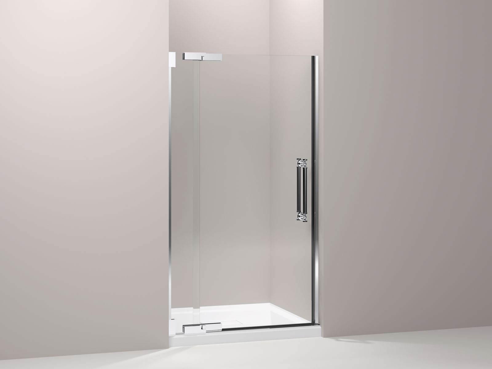 Shown with Archer® shower base K-9393-0, not included.