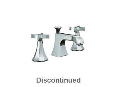 Memoirs® widespread lavatory faucet with classic design and cross handles