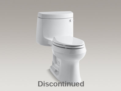Cimarron® Comfort Height® one-piece elongated 1.6 gpf toilet with Cachet® Quiet-Close™ Quick-Release™ toilet seat and right-hand trip lever