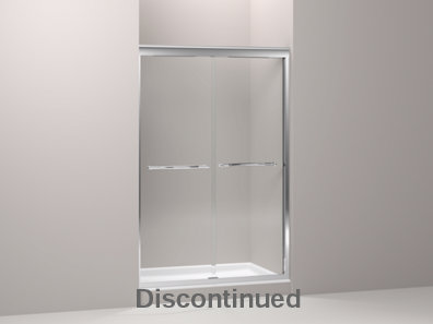 Devonshire® frameless sliding shower door with 3/8