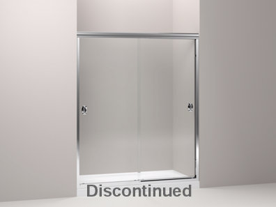 Devonshire® frameless sliding shower door with 1/4