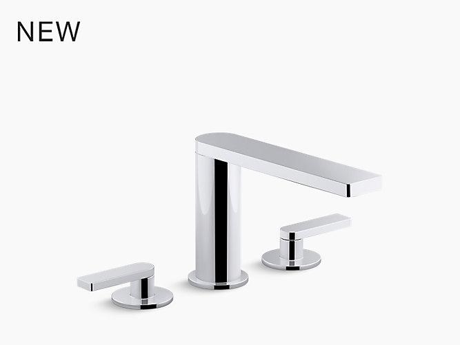 Kohler Elmbrook 8 In Widespread 2 Handle Bathroom Faucet: Composed Widespread Bathroom Sink Faucet