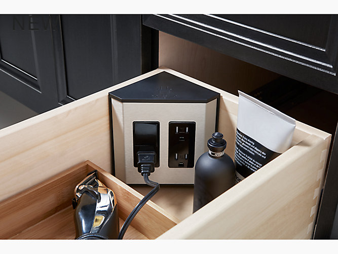 K 99566 Ca3 In Drawer Electrical Outlet For Tailored