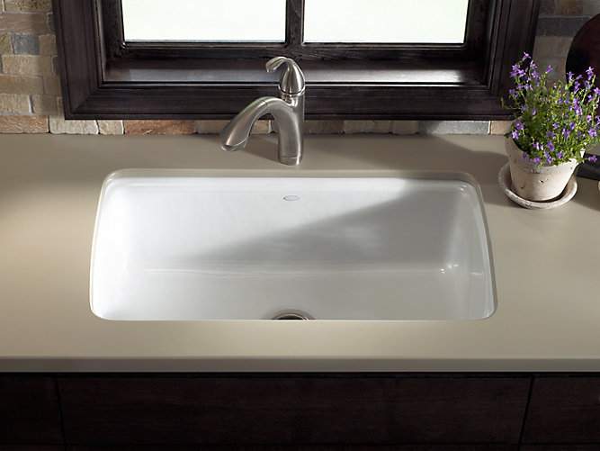 Cape Dory Under Mount Kitchen Sink With Five Faucet Holes