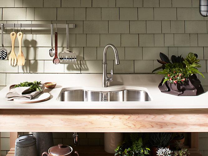 K 3843 Octave Double Equal Under Mount Kitchen Sink Kohler