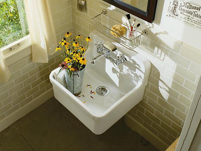 Gilford 24 Inch Apron Front Kitchen Sink K 12701 Kohler