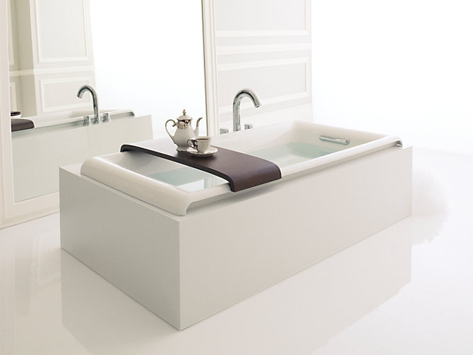 cast iron drop in bathtub kohler