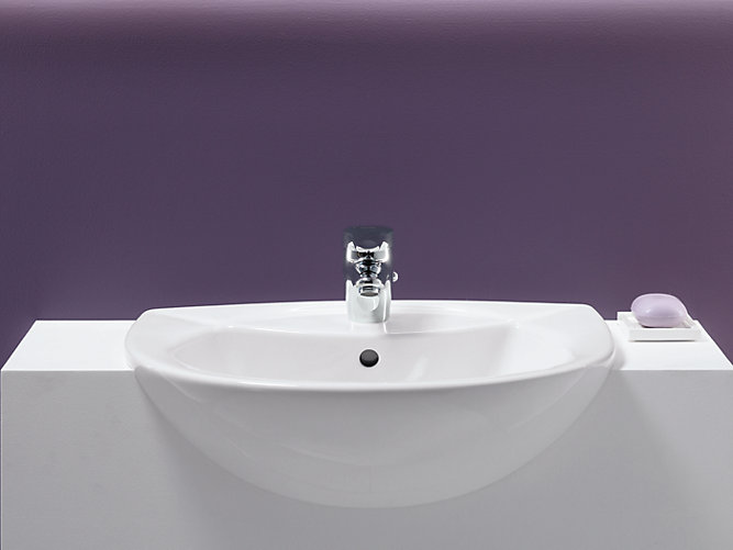 Odeon Semi Recessed Sink With 4 Inch Centers K 11160 4
