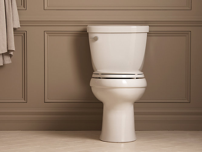 Cimarron Comfort Height Elongated Toilet Bowl K 4309