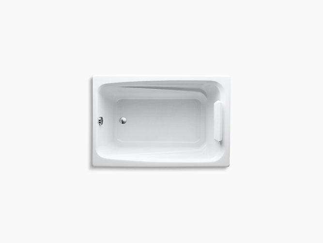 Greek 4 Foot Drop In Bath K 1490 X Kohler