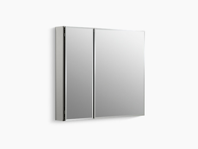 30 Inch Cabinet With Mirrored Doors And Interior K Cb