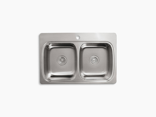 share your style kohlerideas - Single Or Double Kitchen Sink