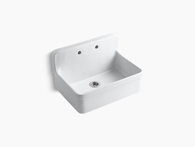 gilford 30 inch apron front kitchen sink k 12700 kohler apron kitchen sink kitchen sinks alcove
