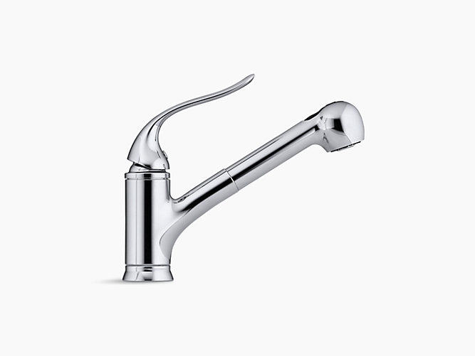 15160 coralais pullout spray kitchen sink faucet kohler