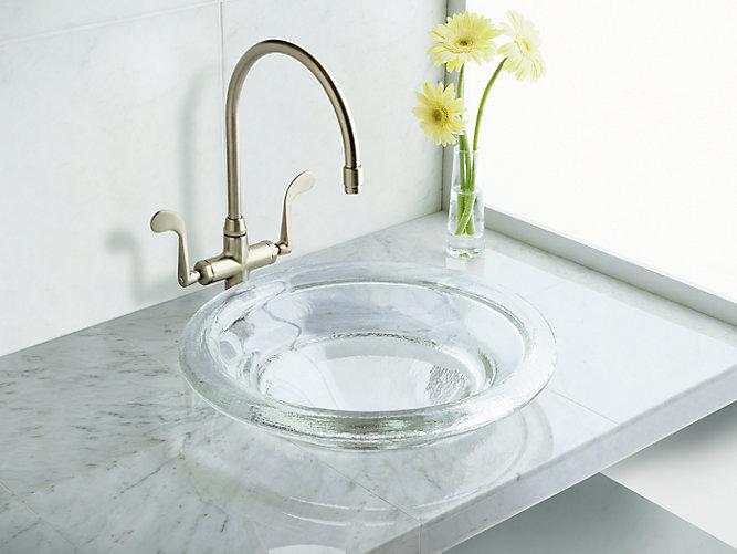 K 2276 Spun Glass Countertop Sink Kohler