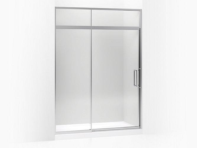 Lattis Pivot Shower Door With Sliding Steam Transom K