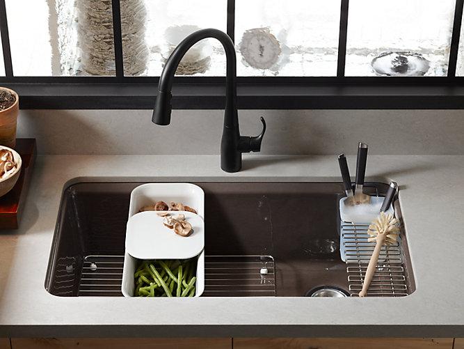 Riverby Under Mount Kitchen Sink With Accessories K 5871