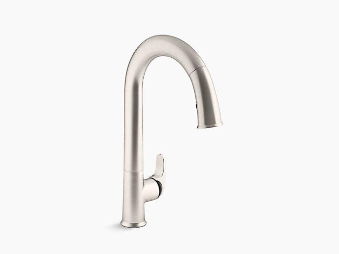K 72218 B7 Sensate Touchless Pull Down Kitchen Sink Faucet Kohler