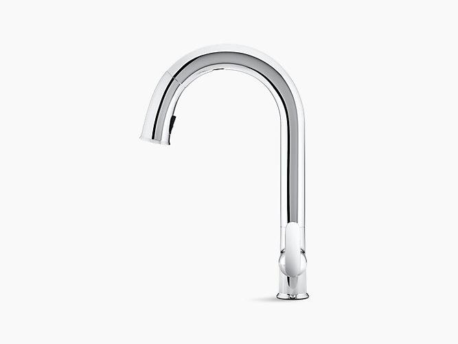 K 72218 Sensate Touchless Pull Down Kitchen Sink Faucet Kohler