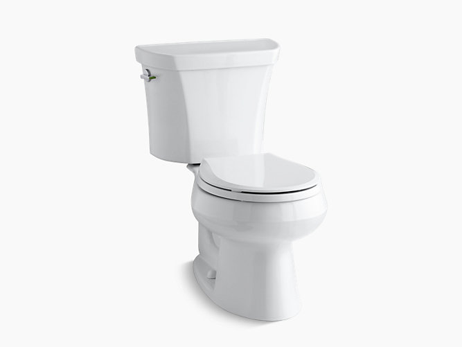 Wellworth Dual Flush Round Front Toilet K 3987 Kohler