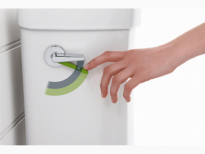 Highline Dual Flush Elongated Comfort Height Toilet K