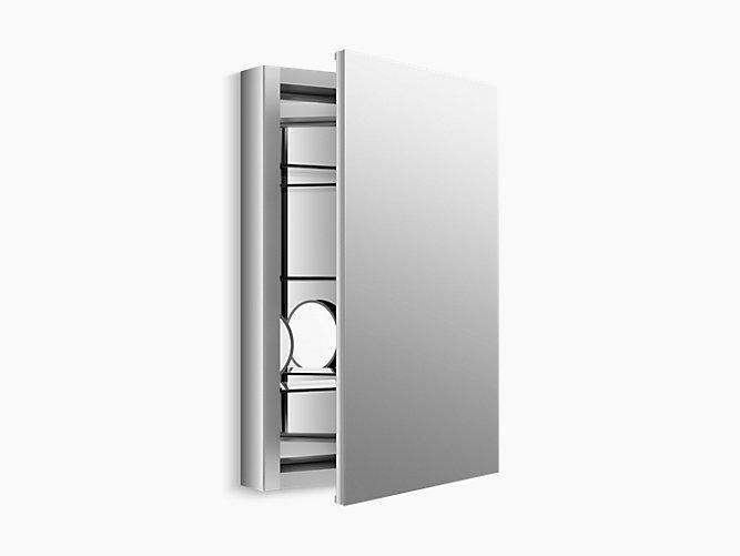Bathroom Mirror Cabinet W Led Lights Adjustable Shelves: Verdera Medicine Cabinet With Magnifying Mirror