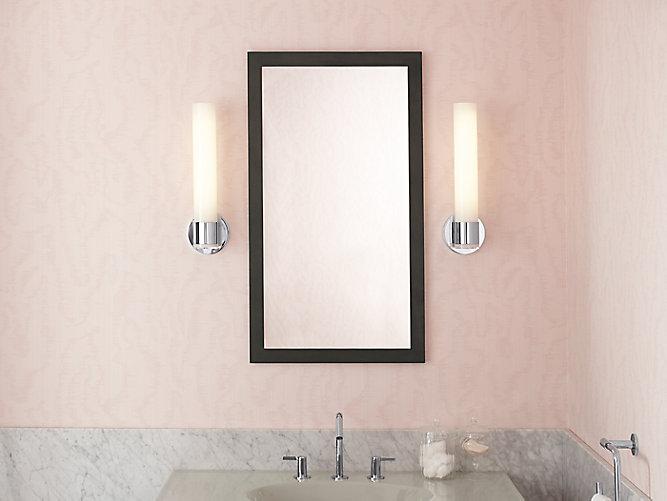 K-99664 | Jacquard Framed Mirror | KOHLER