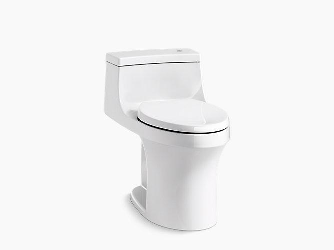 K 4000 san souci one piece touchless toilet gpf for Touchless toilet seat
