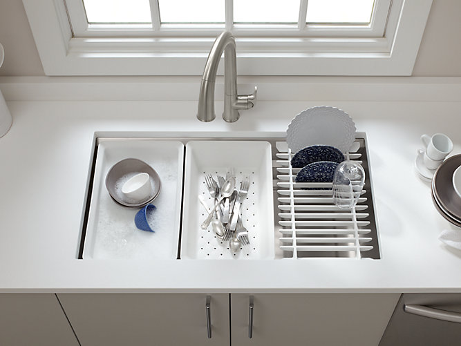 K 5540 Prolific Under Mount Stainless Steel Sink With