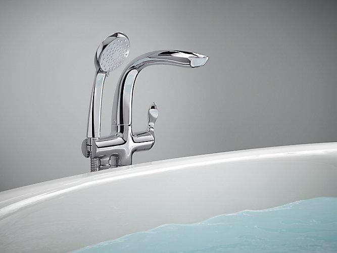 K T97334 4 Refinia Bath Filler Trim With Handshower Kohler