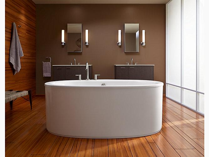 Sunstruck Freestanding Bath Straight Shroud K 6368 Kohler