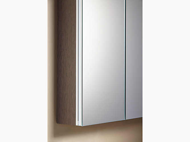 Share your style #KohlerIdeas - K-99010 Verdera Medicine Cabinet With Triple Mirrored Doors KOHLER