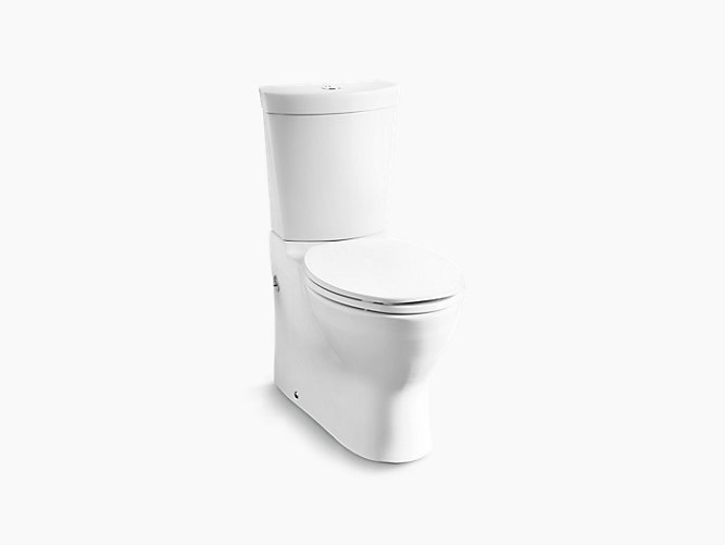 Persuade® Skirted Two-piece Dual Flush Washdown Toilet with Skirted Trapway