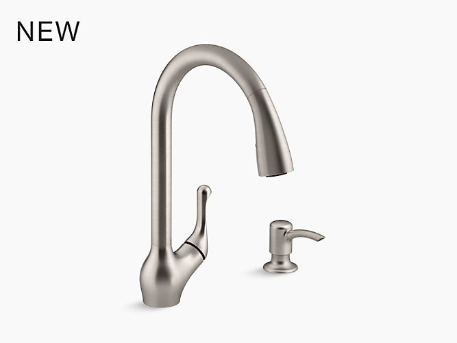 Kohler Barossa Pull Down Kitchen Sink Faucet