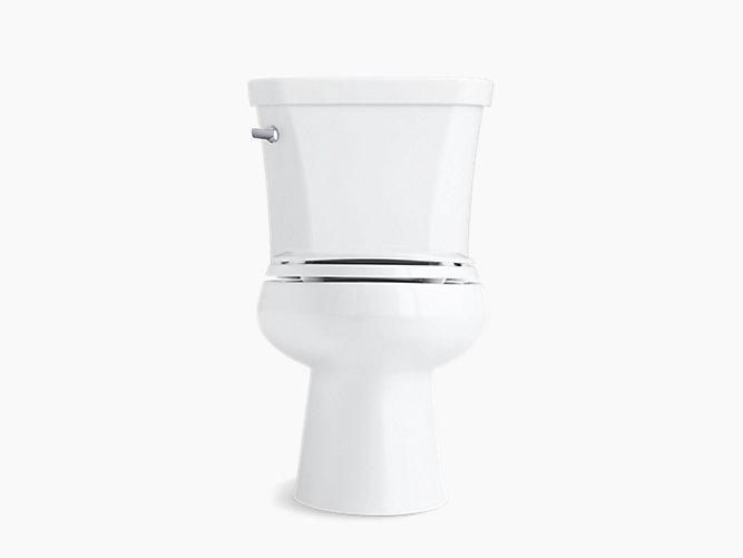 KOHLER K 3978 Wellworth Two Piece Elongated 1 6 GPF Toilet