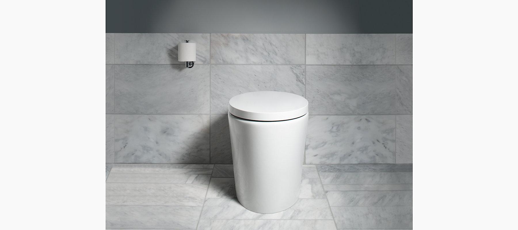 Kohler K 3492 Purist Hatbox One Piece 1 6 Gpf Toilet With