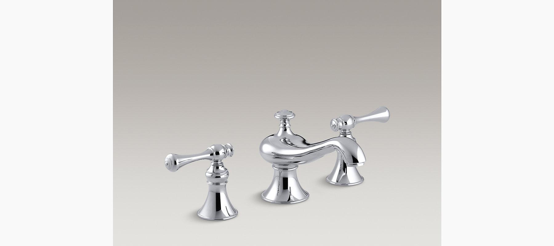 Kohler Revival Kitchen Faucet Revival Widespread Bathroom Sink Faucet K R16102 4a Kohler