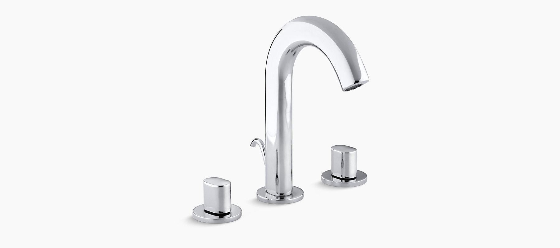 Oblo Widespread Bathroom Sink Faucet K 10086 9 Kohler